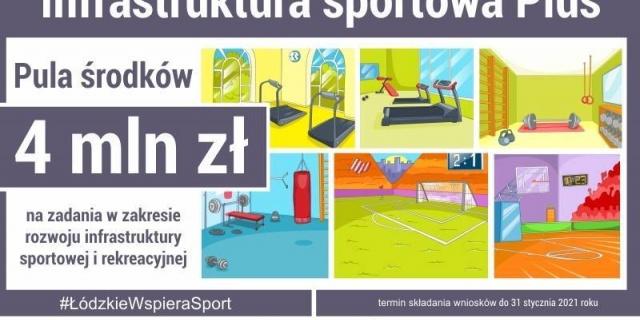 """Rozpoczął się nabór wniosków do programu """"Infrastruktura sportowa Plus"""""""